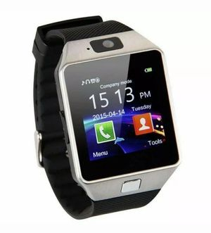 DZ09 Bluetooth Smart Watch Camera Phone GSM For Samsung, Android & Iphone for Sale in West Covina, CA