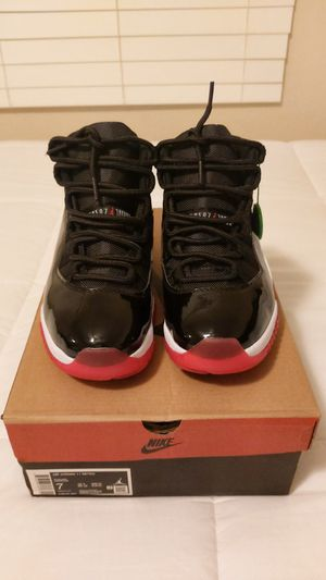 Retro Jordan 11 Bred Size 7Y for Sale in Stanton, CA
