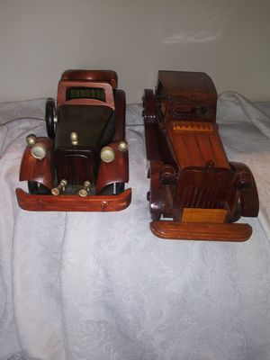 2 wooden hand made cars for Sale in Columbia, MO