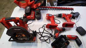 Black and decker drills and chargers for Sale in Federal Way, WA
