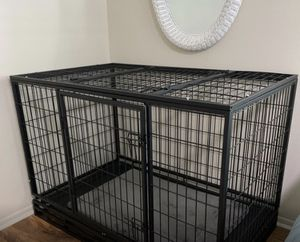 "48"" Large Heavy Duty Dog Kennel for Sale in Denton, TX"