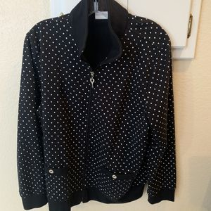 DRAPERS AND SAMONS - large Polka Dots. for Sale in Carrollton, TX