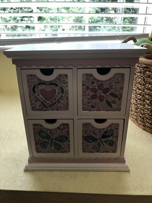 Mosaic & wooden Organizer for Sale in Tallahassee, FL