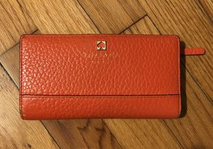 Kate Spade Coral Billfold Snap Close Wallet for Sale in New Providence, NJ