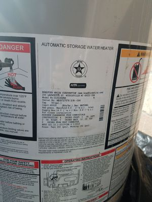 Water heater 50 gallons for Sale in Los Angeles, CA