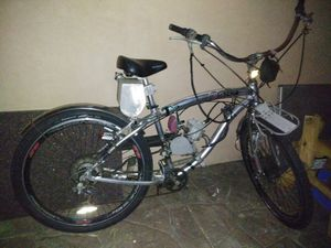Upgraded custom 80cc motorized bicycle for Sale in National City, CA