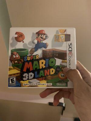 3Ds Games Luigi's Mansion, Mario 3D world, Super Smash Bros, Super Mario Bros 2, Mario Kart 7 for Sale in Cranford, NJ