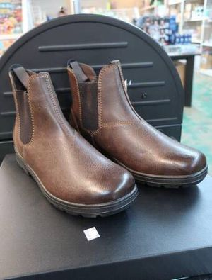 Camden Rock Men's Marshall Chelsea Brown Leather Cushioned Boots for Sale in Mesa, AZ
