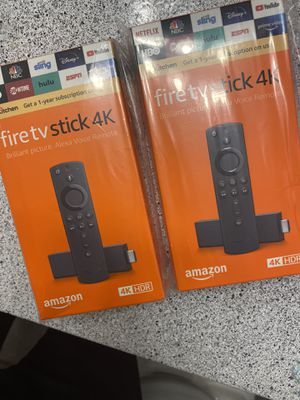 New Brand New Unlocked Amazon Fire TV Stick w/ Voice+Volume Remote for Sale in Humble, TX