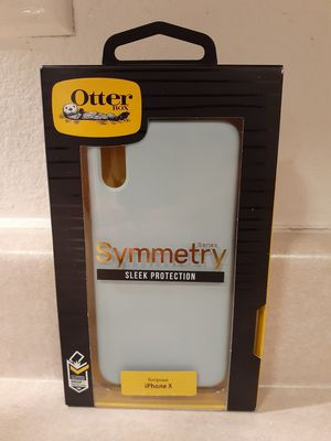 Otterbox Symmetry Case For iPhone X - Light Blue for Sale in Las Vegas, NV