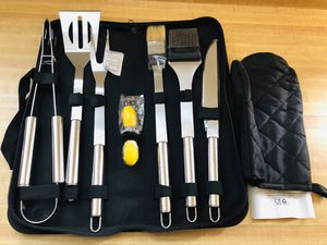 New BBQ Tools Barbecue Accessories Grilling Tools Set 7-Piece(pick up only) for Sale in Alexandria, VA