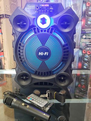 "Bocina Nueva Karaoke BLUETOOTH On SPECIAL !! New Bluetooth Speaker 8"" Woofer , Karaoke Rechargeable 🔋+++ 🎤 MIC AND REMOTE for Sale in Los Angeles, CA"