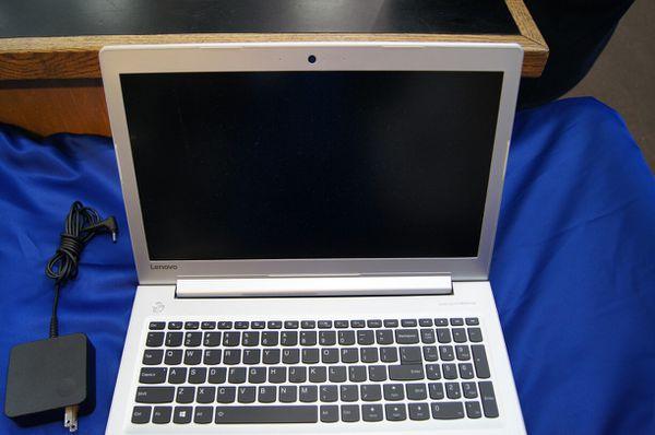 Lenovo Silver Laptop Windows 10