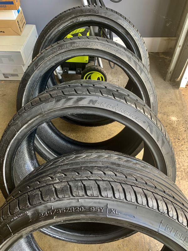(4) Nankang NS-20 245/35/20 Tires