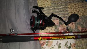 fishing surf rod for Sale in Houston, TX