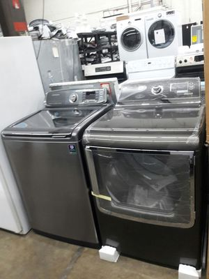 Samsung washer and GE new dryer set for Sale in Fort Washington, MD