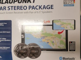 Blaupunkt 7-inch Media Radio Package for Sale in Matteson,  IL
