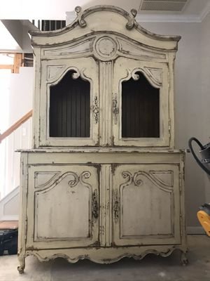 Marseille buffet a duex corps by Habersham for Sale in Raleigh, NC