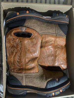 Cody James composite toe work boots for Sale in Las Vegas, NV