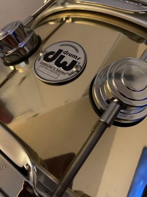 DW Collectors Series Brass Snare for Sale in Las Vegas, NV