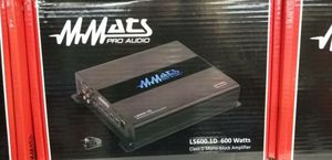 MMATS Pro Audio Ls600.1d Class Stereo MOSFET Amp $149.99 for Sale in Opa-locka, FL