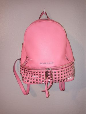 """Michael Kors """"Rhea"""" small back pack for Sale in Pflugerville, TX"""