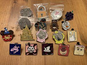 Random Disney Trading Pins - 18 Pins for Sale in Brea, CA