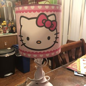 Hello Kitty Lamp And Frame for Sale in Greater Upper Marlboro, MD