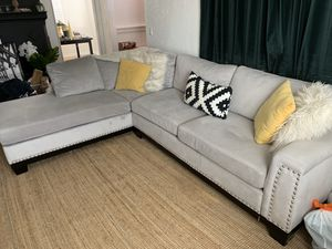 Velvet Sectional Couch for Sale in Concord, CA