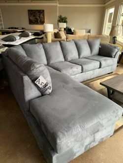 🎋39$ Down Payment🎋Darcy Steel Sectional for Sale in Alexandria,  VA