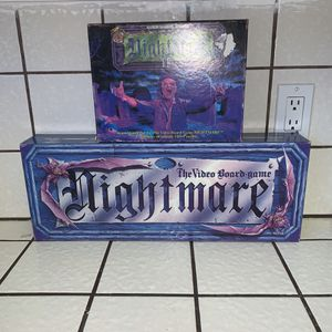 Nightmare 1 & 2 VHS the video board game for Sale in Sparks, NV