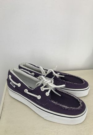 Purple Vans SIZE 6 for Sale in Orland Park, IL