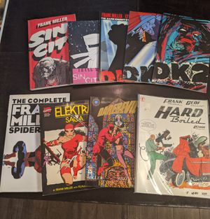 Frank Miller comic books and graphic novels, for Sale in Las Vegas, NV