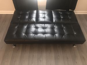 Leather Futon for Sale in Washington, DC