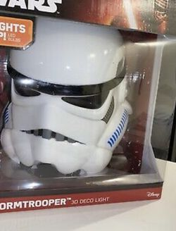 Star Wars Stormtrooper 3D Deco Light - NEW - Great Holiday Gift - On/Off Switch for Sale in Orlando,  FL