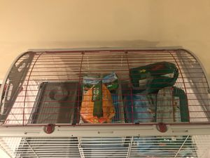 Little critter cage & supplies for Sale in Orondo, WA