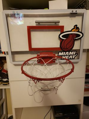 Miami Heat Mini Basketball Hoop for Sale in North Lauderdale, FL