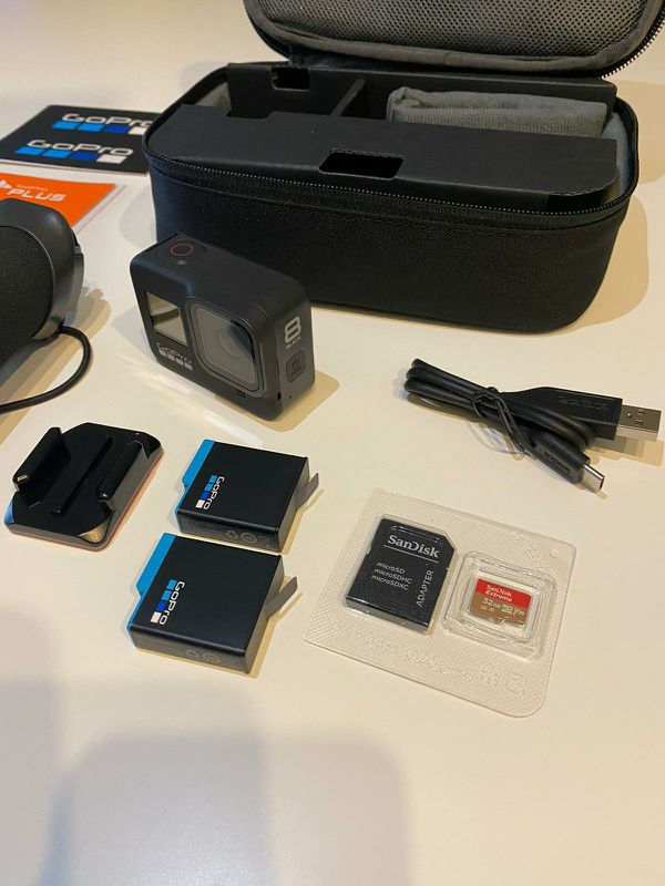 GoPro HERO 8 BLACK Action Camera Bundle