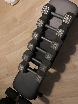 Gym Bench & Lifting Weights for Sale in Cranston, RI