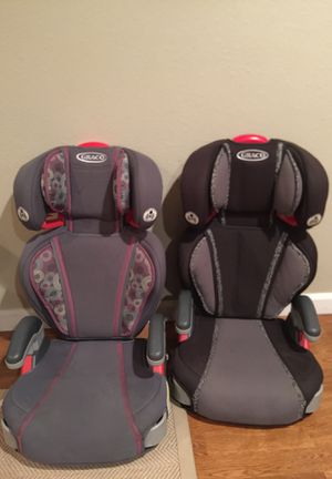 Booster seats, removable backs, Graco for Sale in Bellevue, WA