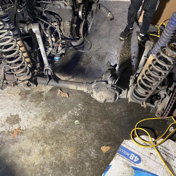 1996 Jeep Cherokee Xj Front Complete front axle