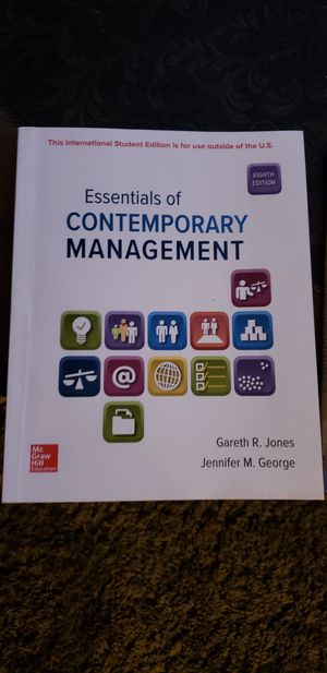 Contemporary Management 8th edition & Macroeconomics for Sale in San Antonio, TX