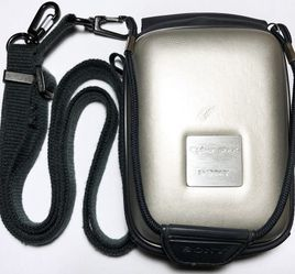 Sony CyberShot Silver Camera Case with Strap for Sale in San Jose,  CA