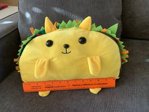 Taco Cat Plushie Collectible- Great Condition! for Sale in Marysville, WA