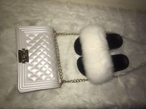 Fur Slide and Jelly bag size 6 and 8 available for Sale in Decatur, GA