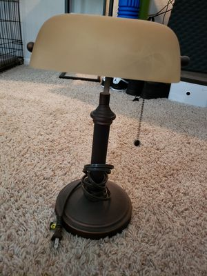 Antique style desk lamp for Sale in Vancouver, WA