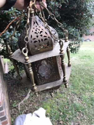 Beautiful Antique Lamp (fully functional for Sale in Fairburn, GA