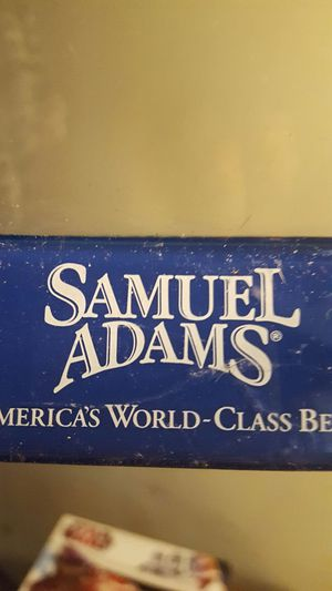 Samuel Adams beer table tent for Sale in Akron, OH