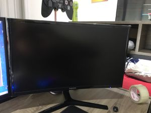 "27"" LED curved Samsung monitor for Sale in Tampa, FL"