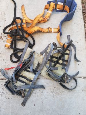 Palm tree & pole CLIMBING SPIKES & safety gear for Sale in Las Vegas, NV